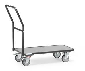 Chariot de magasin 1200 gris