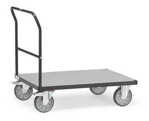 Chariot à dossier de poussée 2500 gris