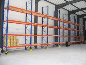 Rack de stockage industriel palettes en entrep t r serve - Rack de stockage brico depot ...